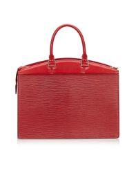 Louis Vuitton Red Riviera Leder Handtaschen