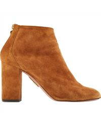Aquazzura Brown Stiefeletten