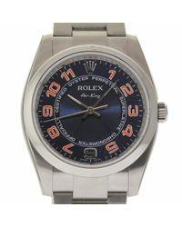 Rolex Air King Uhren in Blue für Herren