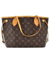 Louis Vuitton Multicolor Neverfull Leinen Handtaschen