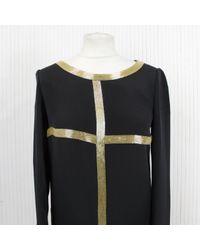 Vestido en seda negro \N Emilio Pucci de color Black