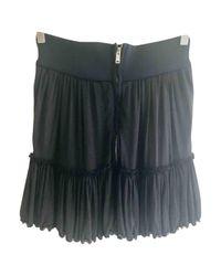Isabel Marant Black Pre-owned Mini Skirt