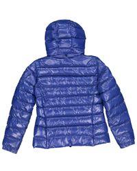 Giacche in sintetico blu di Moncler in Blue