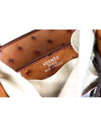 Hermès Orange Birkin 35 Vogelstrauß Handtaschen