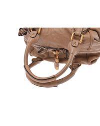 Bolsa de mano en cuero marrón Paddington Chloé de color Brown