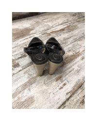 Tod's Black Lackleder Pumps