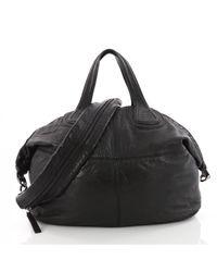Givenchy Black Nightingale Leather Crossbody Bag