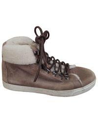 Boots en Cuir Marron Giuseppe Zanotti en coloris Brown