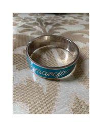 Marc By Marc Jacobs Blue Metal Bracelet