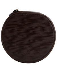 Marroquinería en cuero marrón Louis Vuitton de color Brown