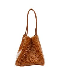 Rejina Pyo Brown Leather
