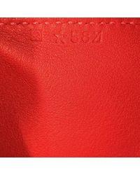 Hermès Red Leder Handtaschen
