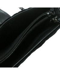 Chanel Black Samt Kleinlederwaren