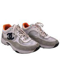 Chanel Multicolor Sneakers Veloursleder