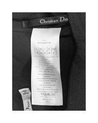 Jupe en Laine Noir Dior en coloris Black