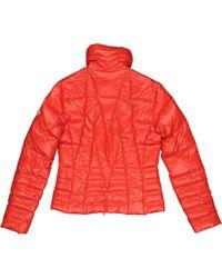 Mantel en Synthétique Rouge Moncler en coloris Red