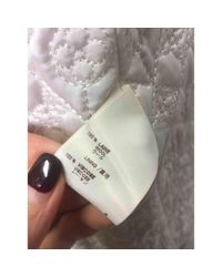 Louis Vuitton Natural Wolle Mäntel