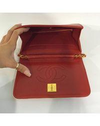 Borse a mano Rosso di Chanel in Red
