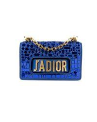 Dior Blue J'a Leder Handtaschen