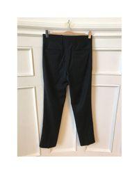 Étoile Isabel Marant Black Wool Trousers