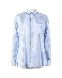 Comme des Garçons Blue Shirt