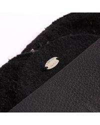 Lanvin - Black Leather Bracelet - Lyst