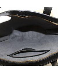 Louis Vuitton Black St Jacques Leder Handtaschen