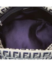 Bolso de Lona Fendi de color Gray