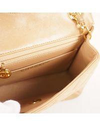 Chanel Natural Timeless/classique Leder Handtaschen