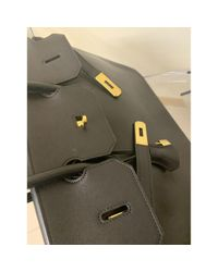Hermès Black Birkin 40 Leder Handtaschen