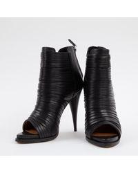 Givenchy Black Leder pumps