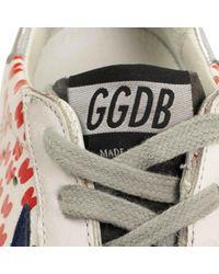 Escarpins en Cuir Blanc Golden Goose Deluxe Brand en coloris Multicolor