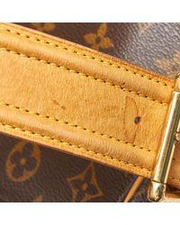 Sac à main en Toile Marron Louis Vuitton en coloris Multicolor