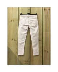 Étoile Isabel Marant \n Pink Cotton - Elasthane Jeans