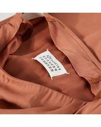 Robe en Viscose Maison Margiela en coloris Brown