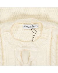 J.W. Anderson Natural Wolle Pullover