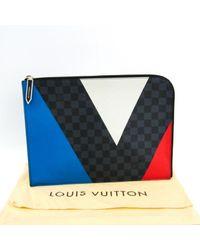 Sac Pochette Jour GM en Toile Bleu Louis Vuitton pour homme en coloris Blue