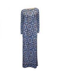 MICHAEL Michael Kors Blue Maxi Dress