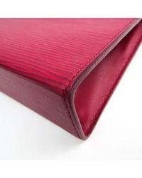 Sac de voyage en Cuir Rose Louis Vuitton en coloris Pink