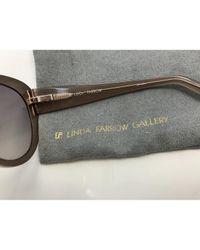 Linda Farrow Multicolor Sonnenbrillen