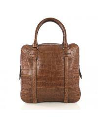 Burberry Brown Aligator Handtaschen