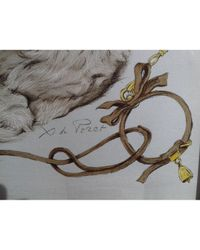 Hermès Natural Carré 90 Seide Seidentücher