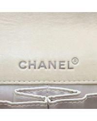 Chanel Natural East West Chocolate Bar Leinen Handtaschen
