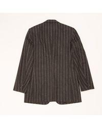 Hermès Gray Wolle Blazer