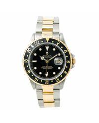 Reloj en acero negro Explorer II 42mm Rolex de hombre de color Black