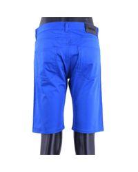 Shorts \N en Coton Bleu Moschino pour homme en coloris Blue