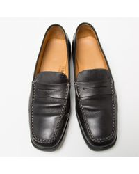 Mocasines de Cuero Tod's de color Black