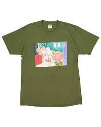 Supreme T-shirts in Green für Herren