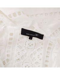 Vestido en algodón blanco \\N Isabel Marant de color White
