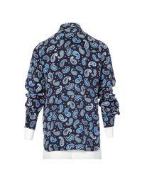 Stella McCartney Blue Pre-owned Silk Shirt